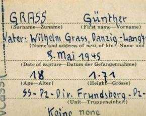 Projection of the Nazi Complex – the Gunter GrassCase.