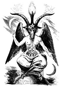 Myth of the Baphomet  derived from its usage in Provence the centre of the Cathar Church in France,