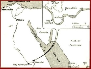 NagHammadi Hidden in 345 AD. By whom? Why? For what future purpose? No one knows,