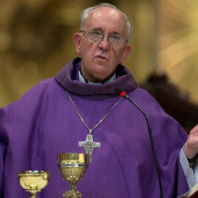 "Pope Francis – Cdl. Bergoglio's Lenten Letter, 2013 ""ready to repent of the evil"" (Joel 2:13)"
