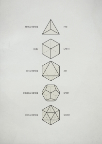 The Platonic Solids sacred-geometry
