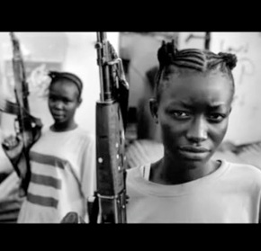Female Janissaries in Liberia – Girls fighting in wars.