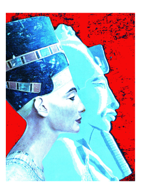 Jungian archetypes of Nefertiti and the Heretic Pharaoh Akhenaten