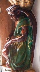 RENNES-LE-CHATEAU Church Devil