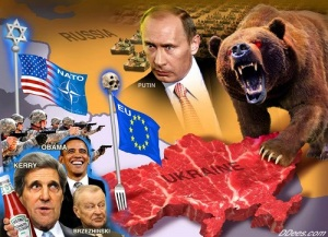 Pojection ot the Western Shadow on Putin.