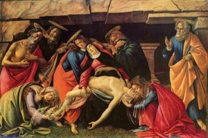 Sandro_Botticelli_Lamentation over dead Christ