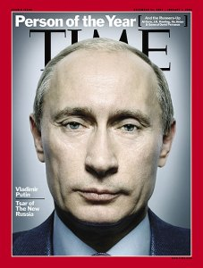 Putin Time Cover