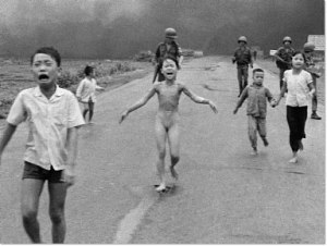 Vietnamese-child depicted in the Pulitzer Prize-winning photograph taken during the Vietnam War on June 8, 1972.