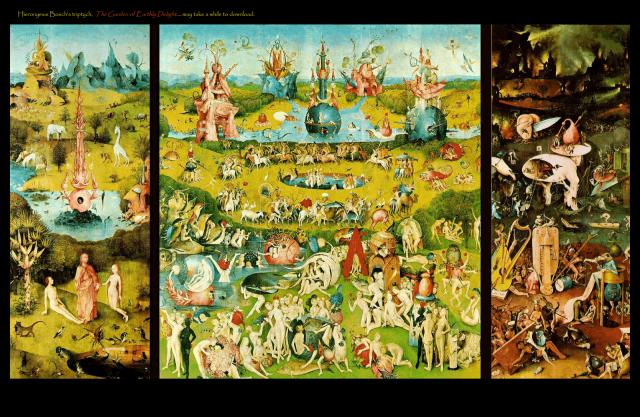 Dantes Inferno Lust - bosch garden