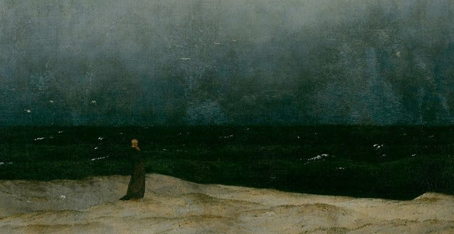 """The Monk by the Sea"" (""Der  Moench am Meer"")  - cut"