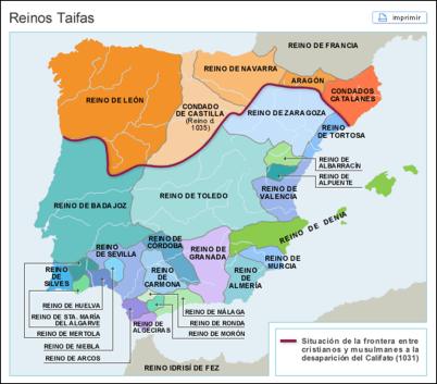 1031-1261 Taifa Kingdoms