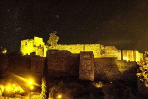 The castle of Gibralfaro, Malaga